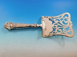 """Punctual Georgian By Towle Sterling Silver Asparagus Server Fancy Hooded As Old 10 1/4"""" Furniture Antiques"""