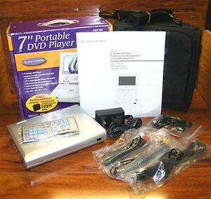 spectroniq pdv 70x 7 portable region 1 dvd player w remote rh ebay com Spectroniq TV HDMI Problems Spectroniq TV