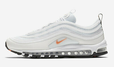 info for fd627 725b3 Nike Air Max 97 Plata Cono Blanco BQ4567-100 Talla 10-11 Limited 100