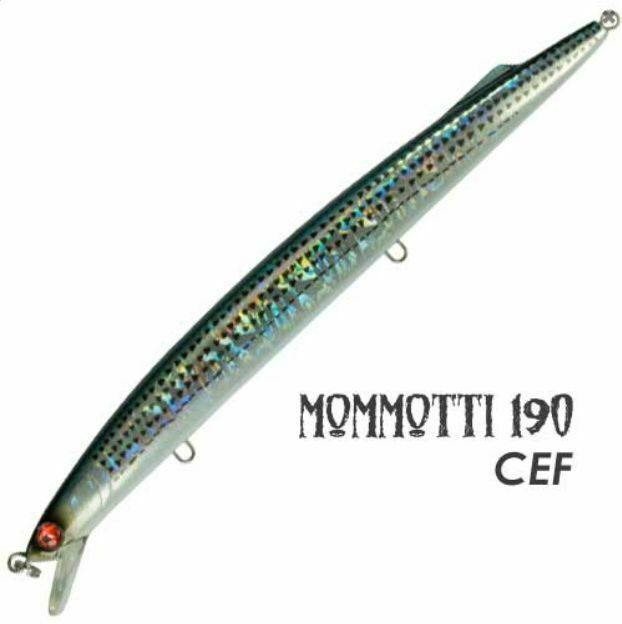 MOMMOTTI 190 S SEASPIN MR-GAS ARTIFICIALE SPINNING PESCA LURE SEÑUELO ESCA