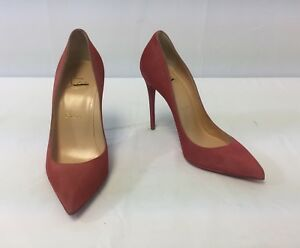 a392bb82470 Image is loading New-Christian-Louboutin-Pigalle-Follies-Suede-Point-Toe-