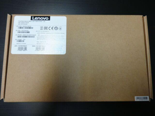 Brand New Sealed Lenovo 40AF0135US ThinkPad Hybrid USB-C Dock!!!!!!!!!!!