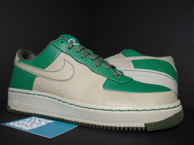 Nike Air Force 1 SUPREME MCO I O 07 BALTIMORE PINE GREEN STONE OLIVE GREY 10.5