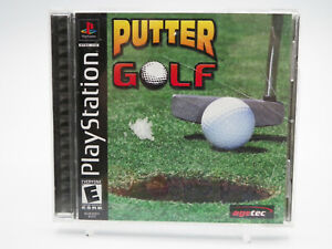Putter Golf PlayStation 1 PS1 Game Complete Tested Free Shipping