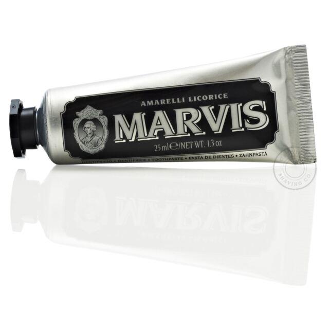 Marvis Amarelli Regaliz/Regaliz Tubo de Viaje Lujo Pasta Dientes - 25ml (Negro)