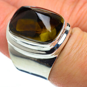 Olive Quartz 925 Sterling Silver Ring Size 7 Ana Co Jewelry R50024F