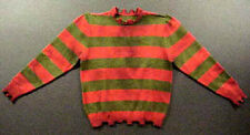 Freddy Krueger Nightmare Sweater Reproduction # 5 Aged and Weathered
