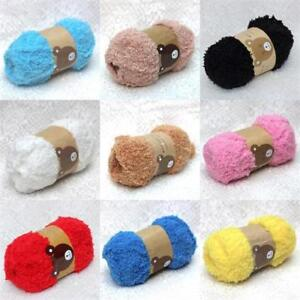 f77d1ea914ce Super Soft Smooth Chunky Double Knitting Wool Yarn Baby Skein Ball ...