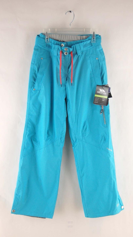 Trespass Women's Shauna Zipper Vented Ski  & Snowboard Pants Aquatic bluee  clients first reputation first