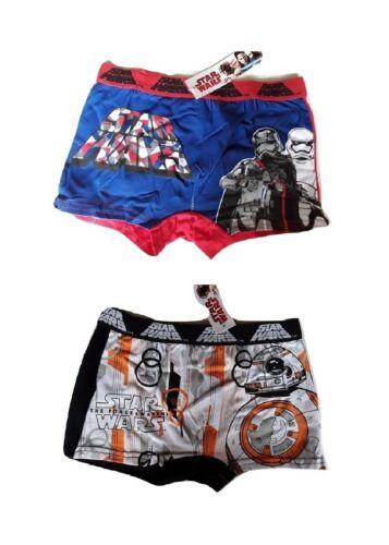 Lot 2 Boxer Enfant Garçon Coton STAR Wars