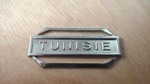 TUNISIE Agrafe en maillechort monnaie de Paris
