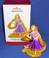 Hallmark Ornament Disney's Tangled Rapunzel And Pascal 2015 Chameleon In Hair