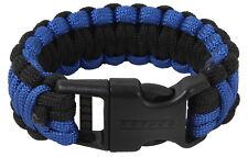 Stainless Adjustable Buckle Paracord Survival Bracelet Shackle W// Compass SM CL
