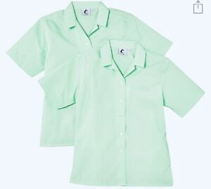 Trutex Limited Girls Short Sleeve Non-Iron Plain Blouse