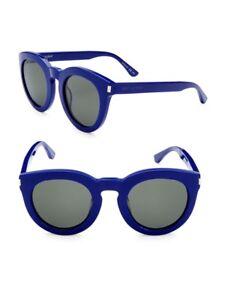 eedc729e695 New Saint Laurent Paris SL 102 Surf 002 47mm Blue Unisex Sunglasses ...