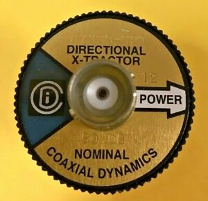 COAXIAL DYNAMICS 87030-020D ELEMENT 50DB 3/1/8 20KW HB (6202570302)