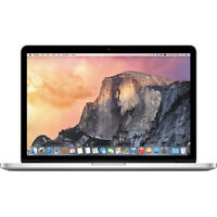 Apple 15.4 Macbook Pro W/retina Display & Force Touch Trackpad Mjlq2ll/a on Sale