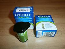 100 One Touch Select Plus - Blutzuckerteststreifen - MHD 05 / 2018 - NEU & OVP
