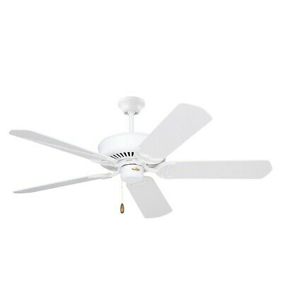 Emerson Designer Ceiling Fan Appliance White Bleached Oak Cf755ww 30844002229 Ebay