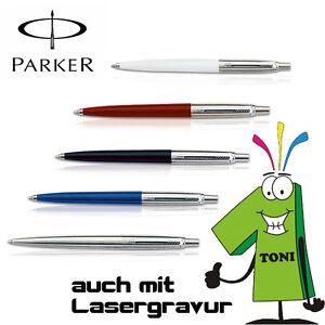 Parker Kugelschreiber Jotter K60 K61 verschiedene Farben mit Gravur