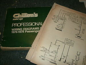1976 FORD PINTO OVERSIZED WIRING DIAGRAMS SCHEMATICS ...
