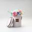 Cajas-de-flores-ramo-de-tipo-de-mano-redonda-Living-jarrones-floristeria-Flor-Planta-Cajas miniatura 2
