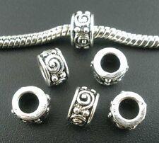 10 Intercalaires spacer _ GROS TROU 8X8X5mm _ Perles apprêt création bijoux A509