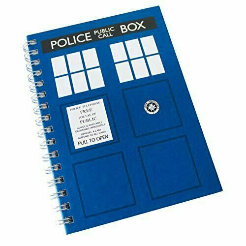 New Doctor Who Worlds In Time Cyberman Notebook Note Pad School Book Official