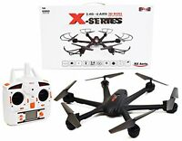 Rc Remote Control Hexacopter Ufo Drone Auto Return High Wind Resistence Easy Fly