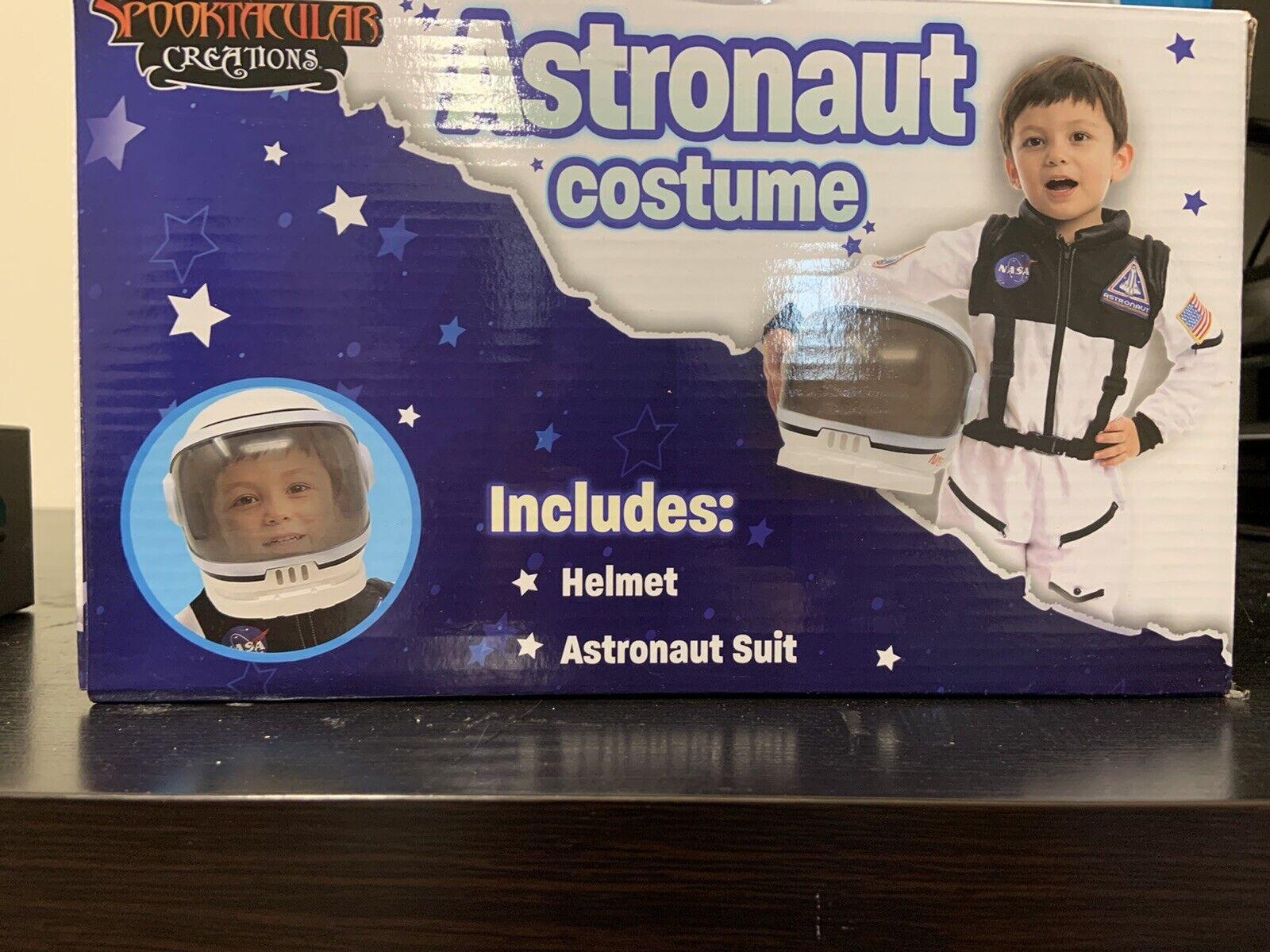 Spooktacular Creations Astronaut Nasa Pilot Costume S(5-7yrs)
