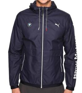 Puma-Bmw-Motorsport-Men-039-s-Premium-MSP-Lightweight-Jacket-Team-Navy-Blue-57278001
