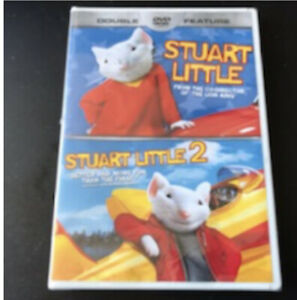 Stuart Little 1 Stuart Little 2 Dvd Double Feature New Ebay