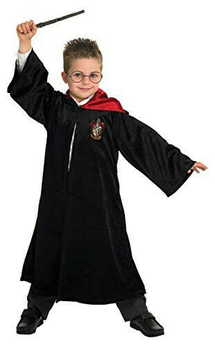 Rubie's Harry Potter Gryffindor Deluxe Robe Childs Costume Size L 7-8y NO TAGS