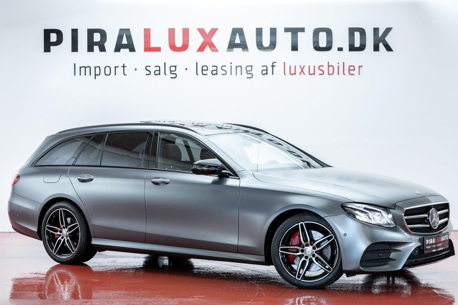 Mercedes E350 d 3,0 AMG Line stc. aut. 5d - 699.900 kr.