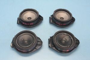 2015-CADILLAC-ATS-2-5L-LUXURY-4DR-1-FRONT-REAR-RIGHT-LEFT-DOOR-SPEAKERS-SET-OEM