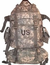 Molle Assault Back Pack w/ fannie and 2 ammo pouches AR15 ACU digital camo good