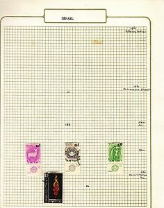 ISRAEL-on-album-page-stamps-removed-for-shipping-k