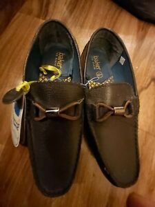 BNWT👞trendy Ted Baker Boys Real Leather