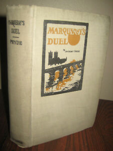 1st-Edition-MARQUERAY-039-S-DUEL-Anthony-Pryde-NOVEL-2nd-Printing-FICTION