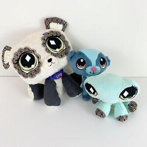 Littlest-Pet-Shop-Small-Plush-Lot-Of-3-Stuffed-Animals