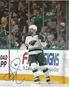 Minnesota-Wild-Jason-Zucker-Autographed-Signed-8x10-COA-D
