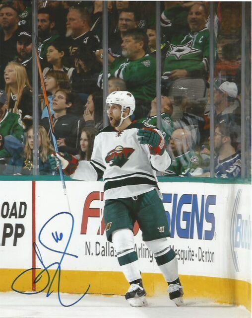Minnesota Wild Jason Zucker Autographed Signed 8x10 COA D
