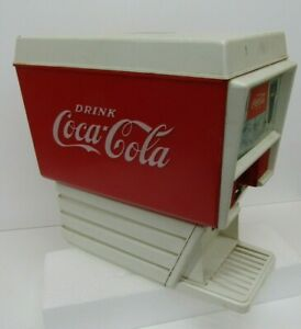 VTG-Chilton-Toy-Coke-Bottle-Dispenser-Fountain-Soda-Coca-Cola-Model-Display
