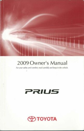2009 Toyota Prius Owners Manual User Guide Reference Operator Book Fuses Fluids