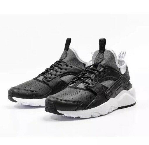 UK 10 Men's Ultra Nike Air Huarache Run Ultra Men's SE Leather Trainers EU 45 875841-004 c33cdb