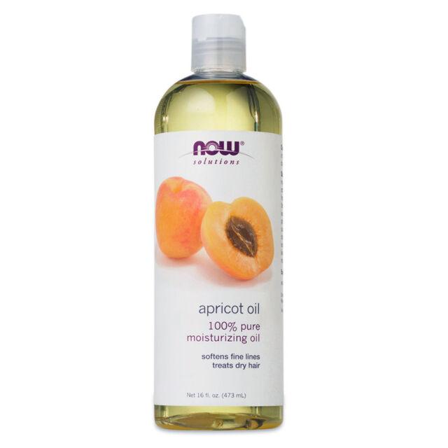now Foods apricot kernel oil, 473ml - olio di albicocca NOW7666
