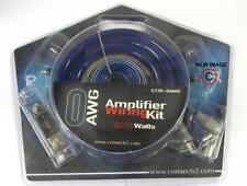 COMPLETO 0 AWG AUTO AMPLIFICATORE AMP KIT DI CABLAGGIO 4 Gauge 3000W Alta Potenza HEAVY DUTY