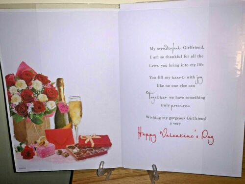 Cute Happy Valentine/'s Day Cards for Girlfriend Happy Valentines Day Quality