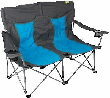 Kampa Lofa Twin chaise camping pliante-Bleu