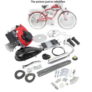 Details about 49CC 4-Stroke GAS PETROL MOTORIZED BIKE BICYCLE ENGINE MOTOR  KIT Scooter